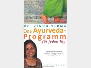 gopika-yoga-in-schwäbisch-hall - das Bild zeigt das Buchcover von das Ayurveda-Programm für jeden Tag